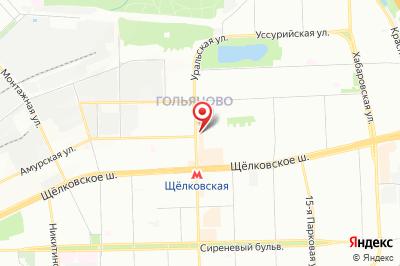 Москва, ул. Уральская, д. 6, к. 1
