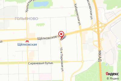 Москва, ул. 15-я Парковая, д. 54
