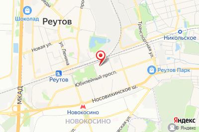 Московская обл., Реутов, ул. Октября, д. 22