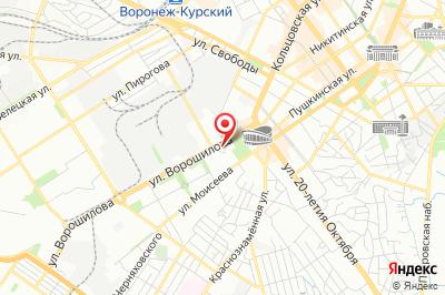 Воронеж, ул. Ворошилова, д. 1В