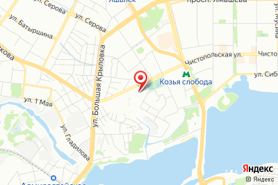 Казань, ул. Мулланура Вахитова, д. 6