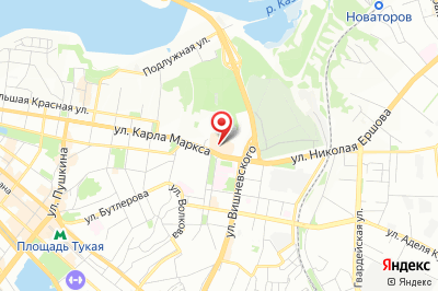 Казань, ул. Николая Ершова дом 1А, 3 этаж