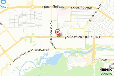 Челябинск, ул. Братьев Кашириных, д. 107, лит. Б