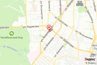 Челябинск, ул. Воровского, д. 61-б