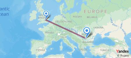 LTN - CRA Itinerariu de zbor