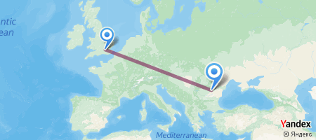 LHR - OTP Itinerariu de zbor