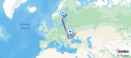 ARN - OTP Itinerariu de zbor