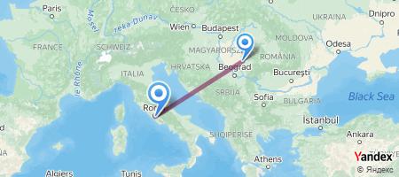 TSR - CIA Itinerariu de zbor