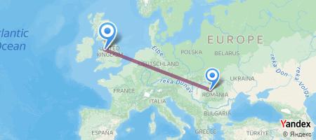 CLJ - LPL Itinerariu de zbor