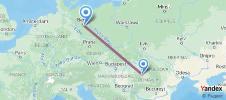 CLJ - BER Itinerariu de zbor