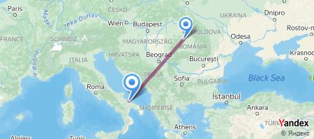 CLJ - BRI Itinerariu de zbor