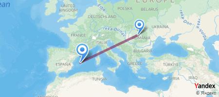CLJ - PMI Itinerariu de zbor
