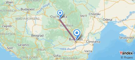 CLJ - OTP Itinerariu de zbor