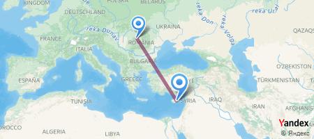 CLJ - LCA Itinerariu de zbor