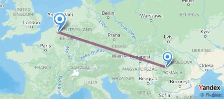 CLJ - BRU Itinerariu de zbor