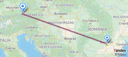 OTP - SZG Itinerariu de zbor