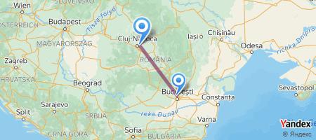 OTP - CLJ Itinerariu de zbor