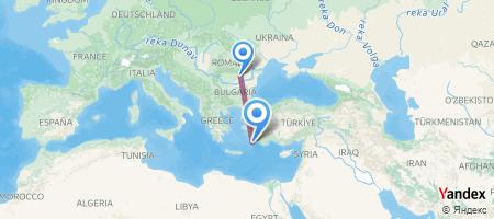 OTP - RHO Itinerariu de zbor