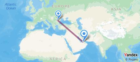 OTP - AUH Itinerariu de zbor