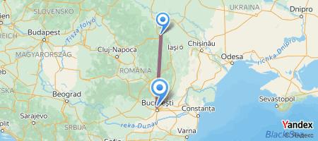 SCV - OTP Itinerariu de zbor