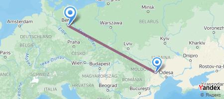 KIV - BER Itinerariu de zbor
