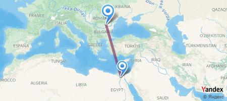 CAI - OTP Itinerariu de zbor