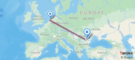 AMS - OTP Itinerariu de zbor