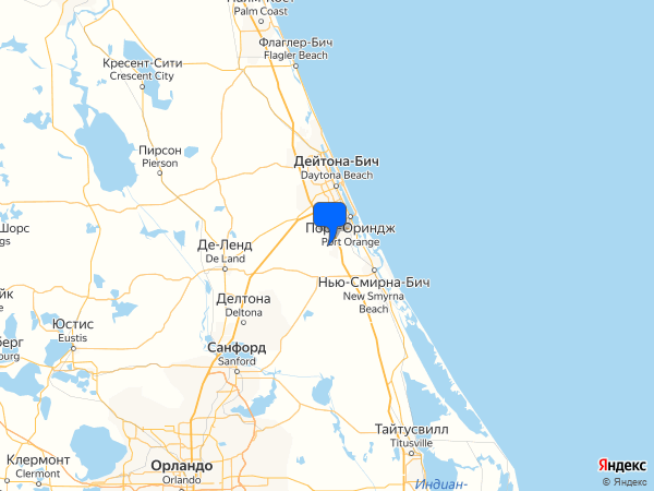 Beech Boulevard, Port Orange, FL 32128, США