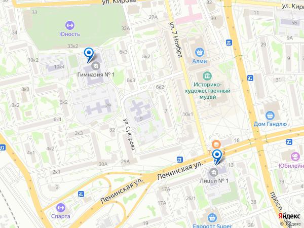Виртуальные 3D туры панорамного фотографа 6tall на карте. Беларусь, Гродненская область, Лида, Ленинская улица