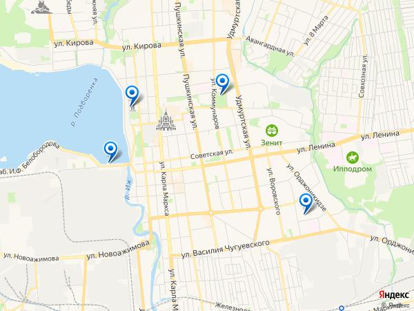 Виртуальные 3D туры панорамного фотографа Greshnic07 на карте. Россия, Удмуртская Республика, Ижевск, Восточная улица