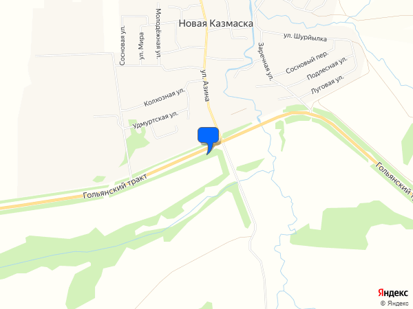 Unnamed Road, Pеспублика Удмуртия, Россия, 427021