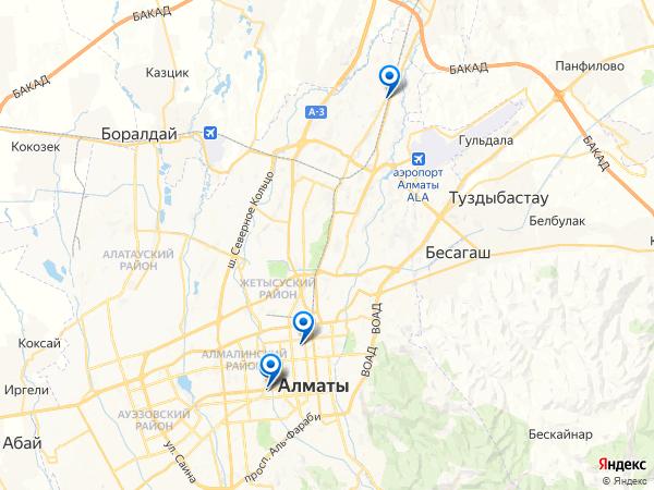 Виртуальные 3D туры панорамного фотографа Maggnat на карте. Казахстан, Алматы, улица Остроумова, 80