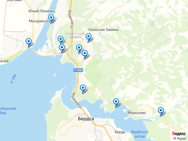 Виртуальные 3D туры панорамного фотографа Mihailov04 на карте. Россия, водохранилище Новосибирское