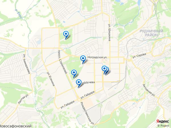 Виртуальные 3D туры панорамного фотографа Videodar на карте. Россия, Кемеровская область, Прокопьевск, улица Жолтовского, 24