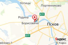Радуга на Никольской карта Псков