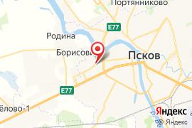 Детская музыкальная школа №5 (Духовая) карта Псков