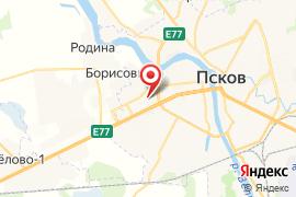 Многопрофильный правовой лицей № 8 карта Псков