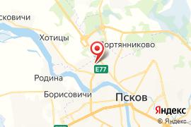 Карамелька карта Псков