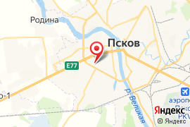 """Лицей """"Развитие"""" карта Псков"""