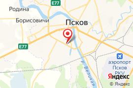 Дом офицеров карта Псков