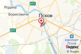 Средняя общеобразовательная школа № 5 карта Псков
