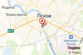 Свято-Тихоновская православная гимназия карта Псков