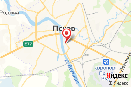 Мастер, ДЮСШ карта Псков