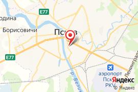 Дом ремесел карта Псков