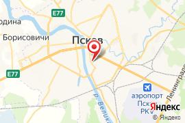 СПА БЕЗ ДНА карта Псков