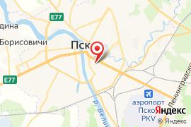 Детский дворик карта Псков