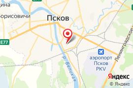 Детская музыкальная школа № 4 карта Псков