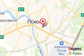 Юность карта Псков