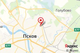 """Детский сад № 41 """"Центр развития ребёнка"""" карта Псков"""