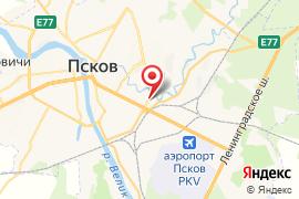 Умняшка карта Псков